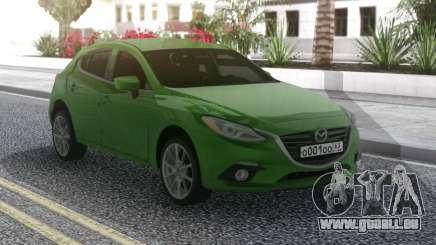 Mazda 3 Green pour GTA San Andreas