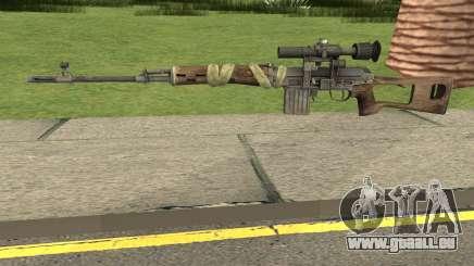 Bad Company 2 Vietnam NDM Sniper für GTA San Andreas