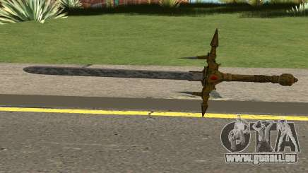 Barbarossa Sword From COD WWII:Nazi Zombies pour GTA San Andreas