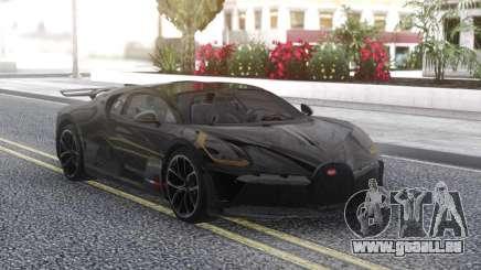 Bugatti Divo Black für GTA San Andreas