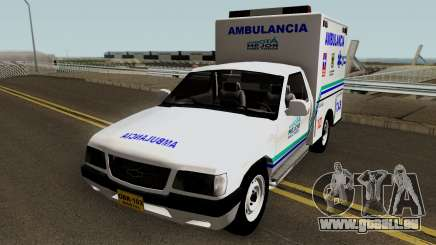 Chevrolet Luv Ambulancia Colombiana pour GTA San Andreas