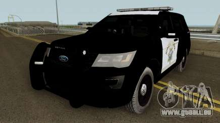 Ford Explorer CHP 2016 pour GTA San Andreas