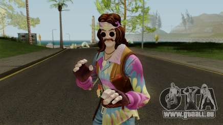 Fortnite Hippie Far Out Man pour GTA San Andreas