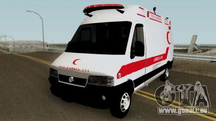 Fiat Ducato 2005 Turkish Ambulance pour GTA San Andreas