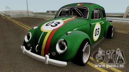 Volkswagen Beetle Ragtop Sedan 1963 pour GTA San Andreas