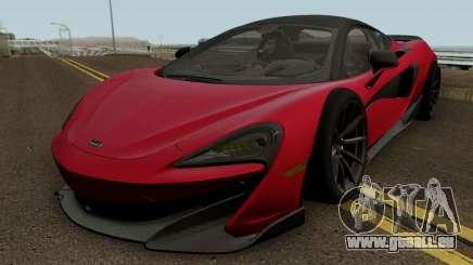McLaren 600LT 2018 pour GTA San Andreas