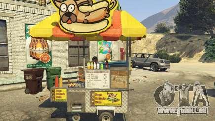Sell Hotdogs [.NET] 1.0 pour GTA 5