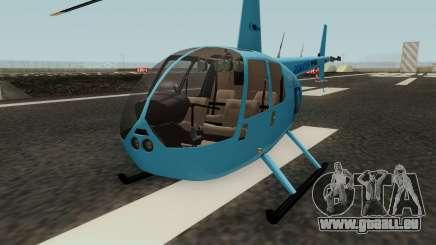 Helicoptero R44 Rave für GTA San Andreas