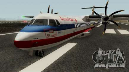 ATR 72-500 - Final Updated für GTA San Andreas
