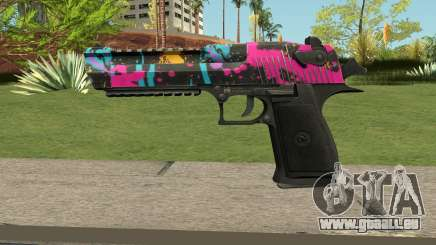 Neon Destroyer Deagle pour GTA San Andreas