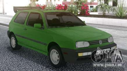 Volkswagen Golf Mk3 1.6 US-Spec pour GTA San Andreas