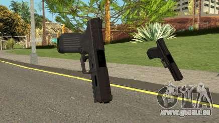 Call of Duty: MWR Pistol (Colt 45) für GTA San Andreas