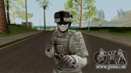 US Army ACU Skin pour GTA San Andreas