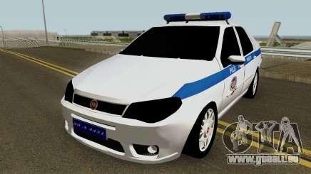 Fiat Albea Turkish Police UnBug für GTA San Andreas