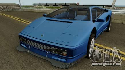 Lamborghini Diablo VT 6.0 (Infernus Style) 1990 für GTA San Andreas