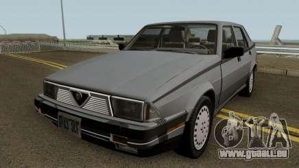 Alfa Romeo Milano 3.0 V6 1987 (US-Spec) pour GTA San Andreas