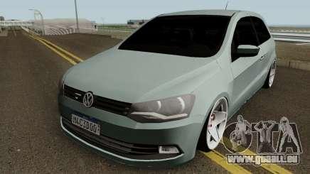 Volkswagen Gol G6 HQ pour GTA San Andreas