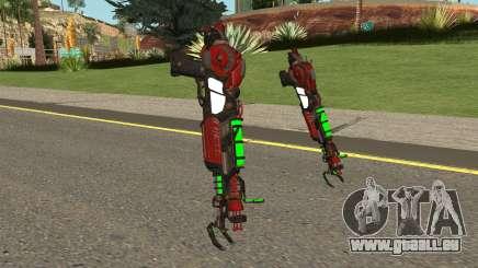 Call of Duty Black ops 3 Zombies : Ray Gun mk.2 für GTA San Andreas