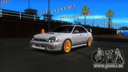 2001 Subaru Impreza WRX STI pour GTA San Andreas