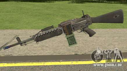 Bad Company 2 Vietnam Stoner 63A für GTA San Andreas