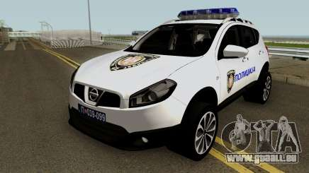 Nissan Qashqai Interventna Jedinica 92 pour GTA San Andreas