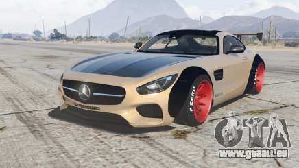 Mercedes-AMG GT coupe (C190) 2016 LibertyWalk für GTA 5