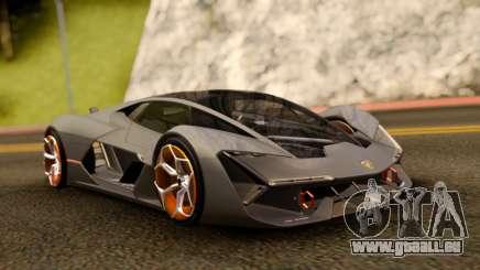 Lamborghini Terzo Millennio 2017 Concept pour GTA San Andreas