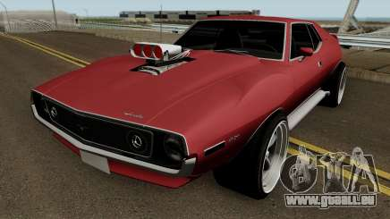AMC Javelin AMX 401 1971 HQ pour GTA San Andreas
