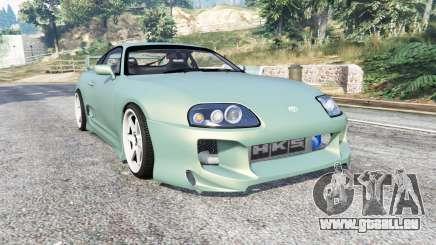 Toyota Supra Turbo (JZA80) [add-on] pour GTA 5