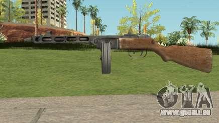PPSH-41 Bad Company 2 Vietnam pour GTA San Andreas
