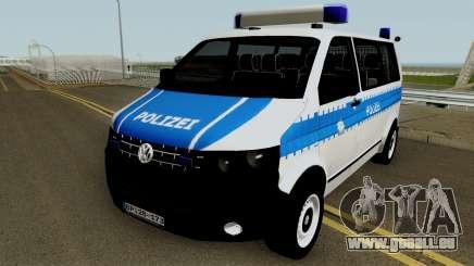 Volkswagen T5 German Police für GTA San Andreas