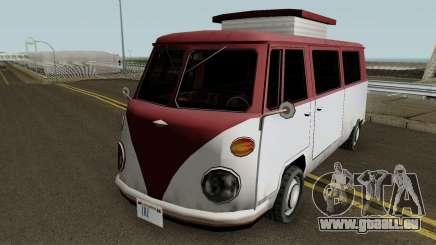 Burgerfahrzeug Volkswagen T2 Microbus pour GTA San Andreas
