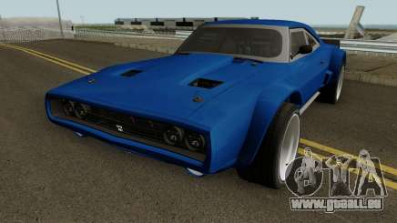 Dodge Charger RT 1968 HQ pour GTA San Andreas