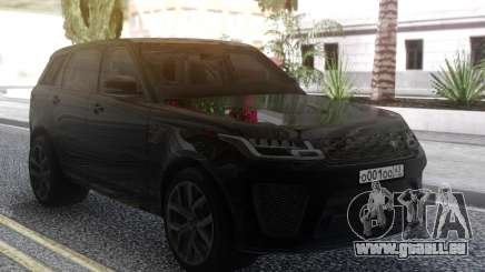 Land Rover Range Rover Sport SVR 2018 pour GTA San Andreas
