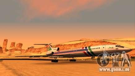 TU-154M de la Compagnie Aérienne du Daghestan pour GTA San Andreas