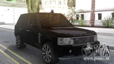 Land Rover Range Rover Sport Black pour GTA San Andreas