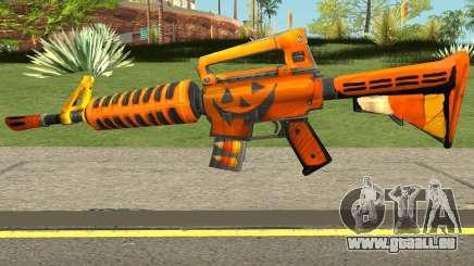 Fortnite Halloween M4 für GTA San Andreas