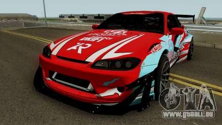 Nissan Silvia S15 Rocket Bunny BSI Drift Team pour GTA San Andreas