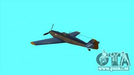Rustler - BF109E4 für GTA San Andreas