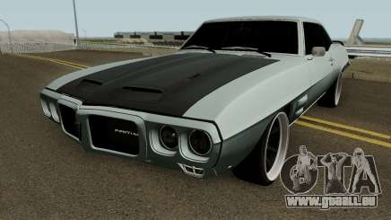 Pontiac Firebird MM 1969 pour GTA San Andreas