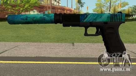 Hurricane Glock 17 für GTA San Andreas