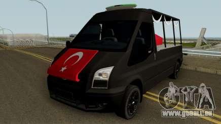 Die Beerdigung Der Märtyrer-Werkzeug Ford Transit für GTA San Andreas