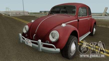 Volkswagen Beetle Deluxe 1300 (Non-ragtop) 1963 pour GTA San Andreas