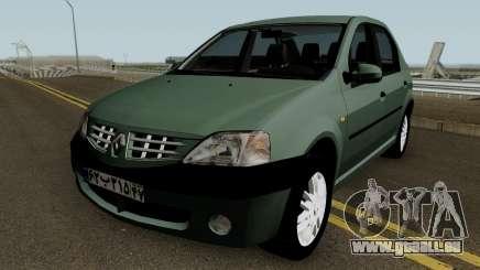 Renault Tondar 90 (Iranian) pour GTA San Andreas