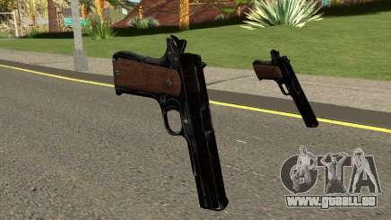 COD-WW2 - M1911 Pistol für GTA San Andreas