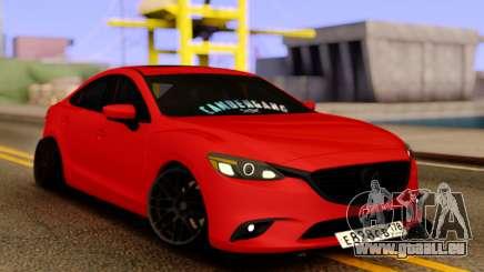 Mazda 6 Red Sport für GTA San Andreas