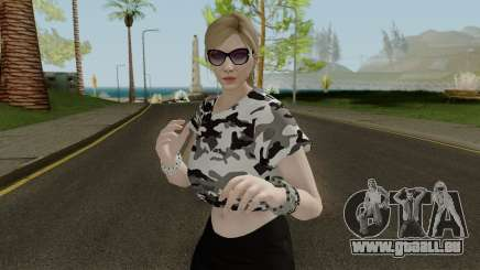 GTA Online Female Skin With Normal Map pour GTA San Andreas