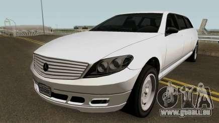Mercedes Benz E-Class W212 Limousine 2012 pour GTA San Andreas