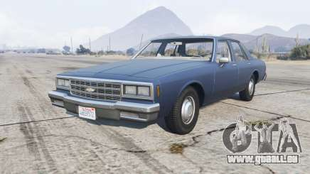 Chevrolet Impala 1980 pour GTA 5