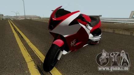 Shitzu Hakuchou Drag GTA V HQ pour GTA San Andreas